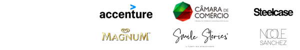 Com o apoio de: Accenture | CCIP | Steelcase | Magnum | Smile Stories | Nimagens